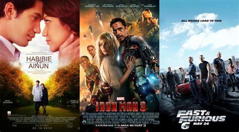 film bioskop habibie dan ainun habibie ainun ungguli iron man 3 dan fast 6 di
