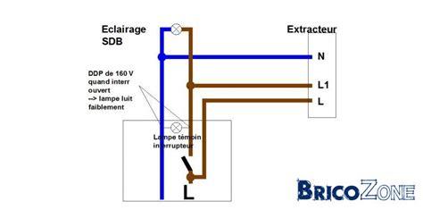 Comment Brancher Un Extracteur De Salle De Bain by Interrupteur Bipolaire Et Extracteur D Air