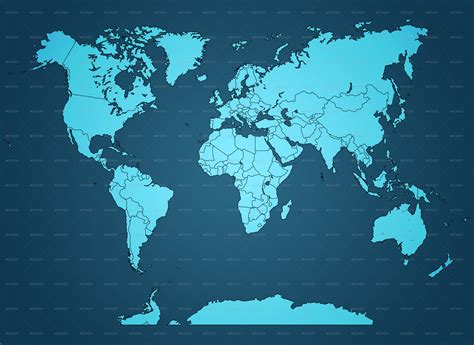 world map collection  koios graphicriver