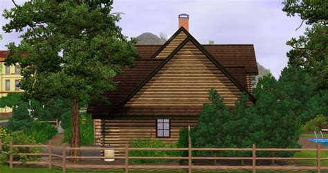 Craftsman Cabin by Mod The Sims Craftsman Cabin