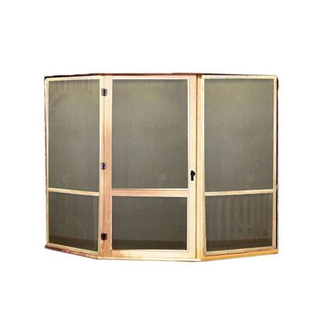 king canopy bug screen room with floor csr1020bk the