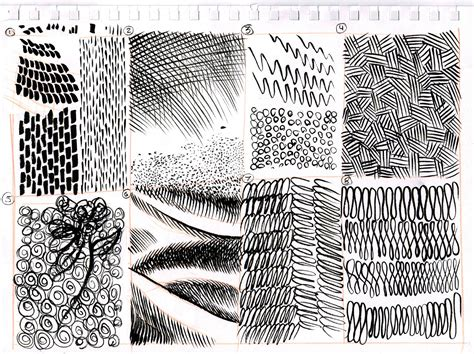 ink pattern words dynamic drawing 187 archive 187 pattern texture and technique