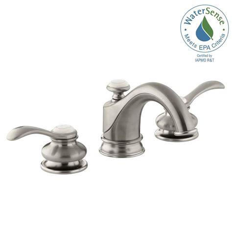 Water Faucet Handles by Kohler Fairfax 8 In Widespread 2 Handle Water Saving