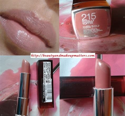 Maybelline Lipstick Toffe maybelline color sensational lipstick totally toffee