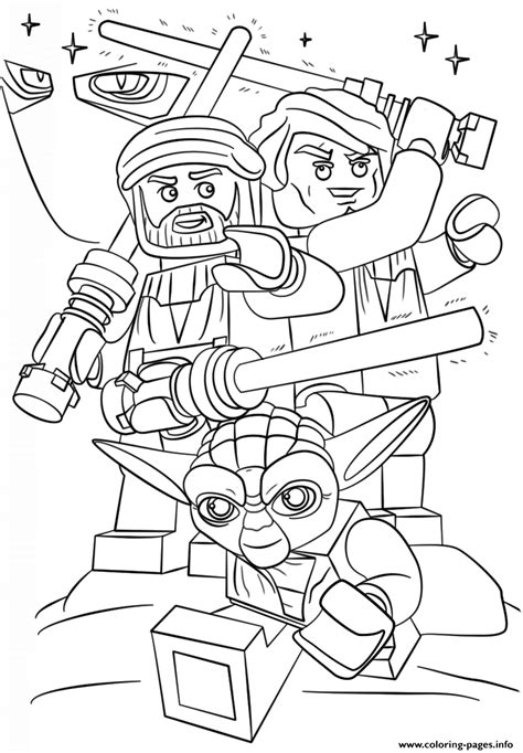 lego coloring pages star wars to print lego star wars clone wars coloring pages printable
