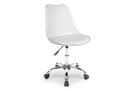 chaise bureau blanche chaises de bureaux blanches visuel 3