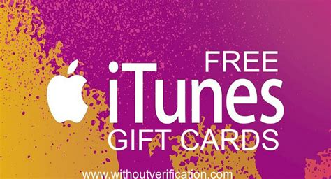 Where To Get Free Itunes Gift Cards - free itunes gift cards no survey without verification