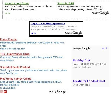 fb ads to adsense google adsense tests scrolling contextual advertisements