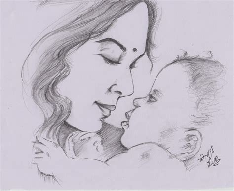 sketch and draw sketches and drawings and baby pencil sketch