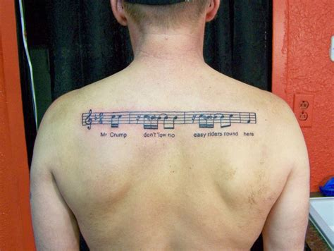 music related tattoo designs for busbones
