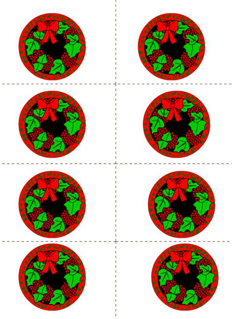printable christmas round tags free printable christmas and holiday labels