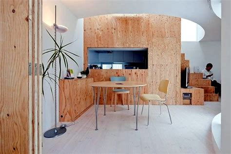 Luxury Home Office Design - plywood for interior design the pleasantly warm wood look at home interior design ideas