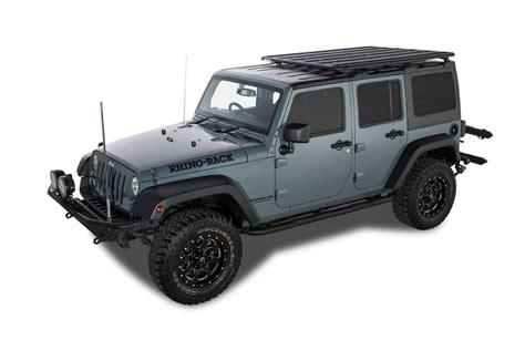 rhino jeep jeep jk rhino rack backbone complete system release