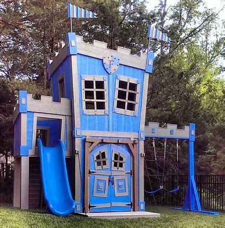 backyard castle playhouse 25 best ideas about castle playhouse on pinterest