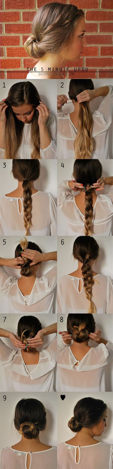 15 easy step by step hairstyles for long hair hair style 15 cute hairstyles step by step hairstyles for long hair
