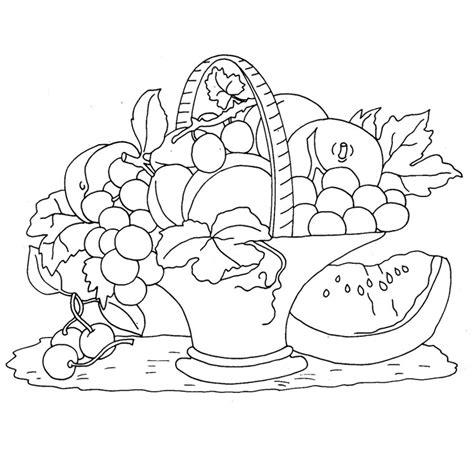Coloriage Fruits De L Automne A Imprimer Gratuit