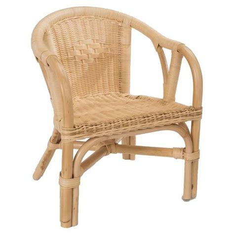 fauteuils enfants fauteuil enfant edgar en rotin la vannerie d aujourd hui