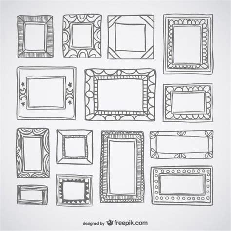 doodle deco picture holder 25 best ideas about doodle frames on doodling