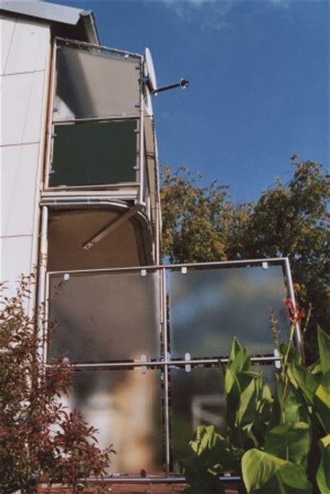 Balkon Sichtschutz Glas 344 by Gel 228 Nder Balkongel 228 Nder In Edelstahl Als Sichtschutz