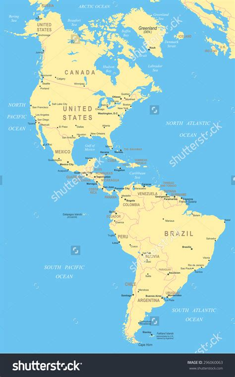 map of usa and south america and south america map for map of northern