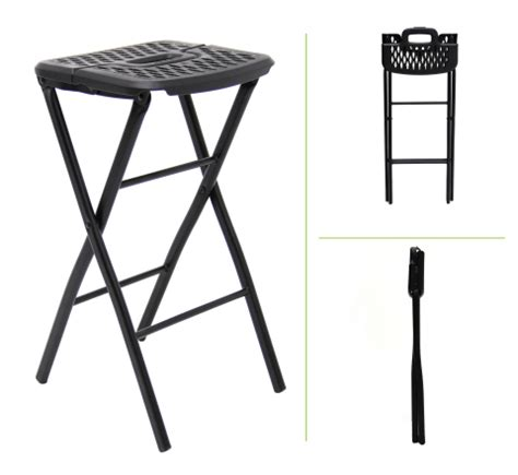 Folding Stool 24 Inch by Mitylite S New Flex One Folding Stool Just In Time For