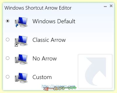 theme editor windows 8 windows shortcut arrow editor オールフリーソフト windows 7 8 10対応の
