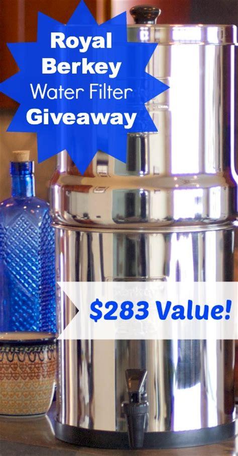Berkey Giveaway - giveaway royal berkey water filter 283 value holistically engineered