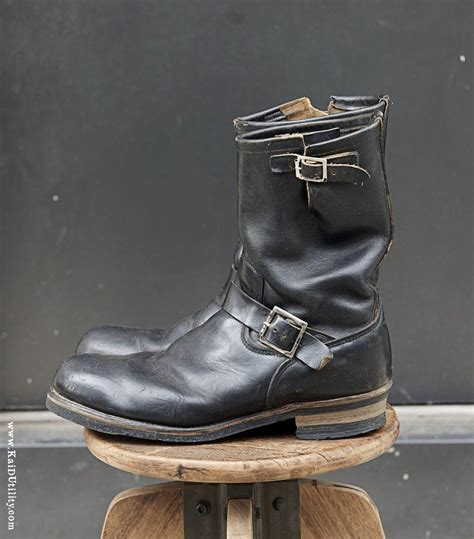 engineer boots pre owned wing engineer boots 12 wing engineer