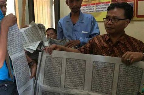 Harga Samsung J2 Pro Cirebon di kota ini ditemukan lembaran al quran jadi bungkus nasi