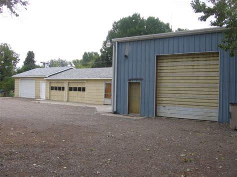 Wyoming Garage Sale by Large Shop And Garage Basin Wyoming Shop Garage Home