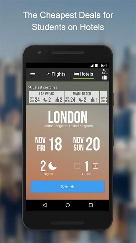 flights by studentuniverse android apps on play