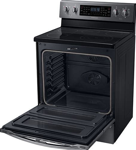 samsung flex duo 5 9 cu ft self cleaning freestanding oven electric convection range