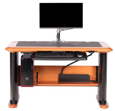 cpu holder for standing desk wellston cpu holder desk caretta workspace