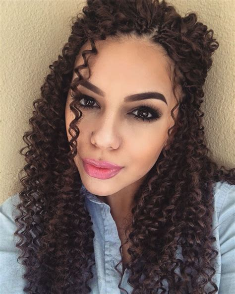 crochet hairstyles videos crochet braids freetress water wave ig the millennial