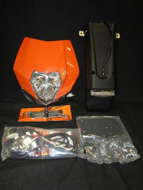 Ktm Lighting Kit Sell New Sicass Racing Ktm Headlight Taillight Lighting