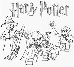 coloring pages 98 in picture coloring page with lego harry potter coloring pages qlyview