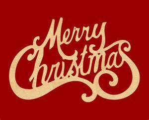 merry christmas wood cutout holliday