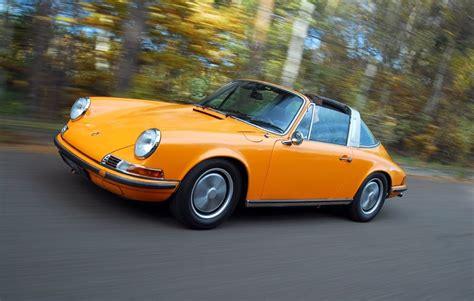 vintage orange porsche flat6 power vintage porsche 911 porsche 911 targa