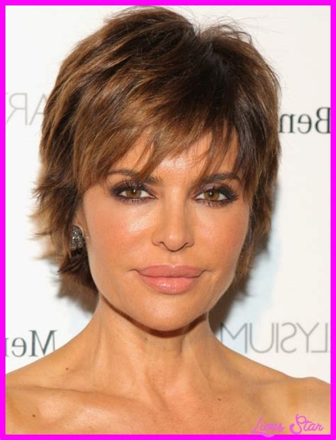 how to style lisa rena razor cut style long hairstyles lisa rinna short hairstyle livesstar com