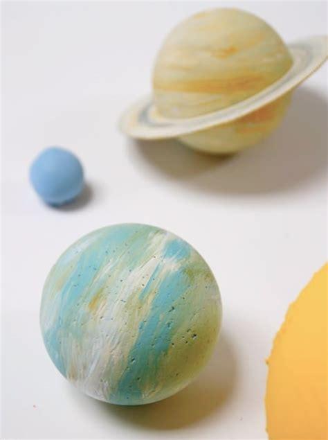Handmade Solar System - simple diy crafts for handmade