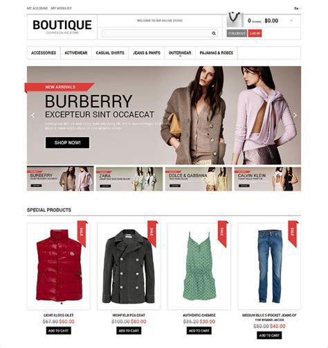 19 Boutique Website Themes Templates Free Premium Templates Free Boutique Templates For Website