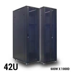 Wall Mount Rack Enclosure Cabinet Toten Professional 42u Server Rack 600w X 1000d