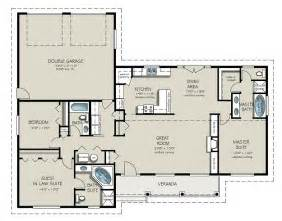 develop bed room house plan with garage level floor plans shaped