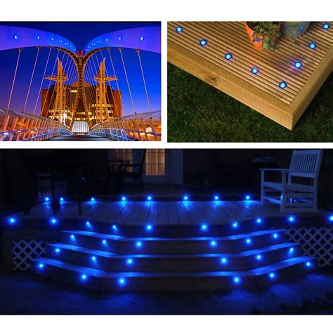 led patio lights deck light yard garden patio stairs landscape outdoor led
