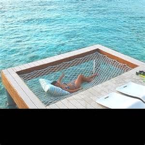 New age water bed water ideas beach house decks dock hammocks