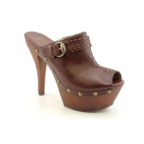 shop jessica simpson womens wilone leather dress shoes