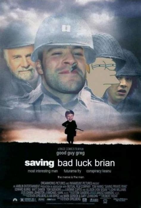 Movie Meme - the best of bad luck brian meme 18 pics