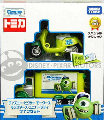 Takara Tomy Tomica Disney Motors Pixar Monsters Mike Set amiami character hobby shop disney tomica disney