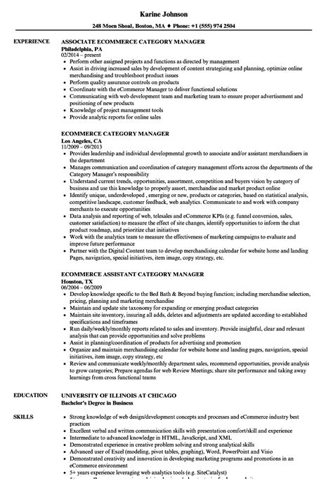Category For Resume