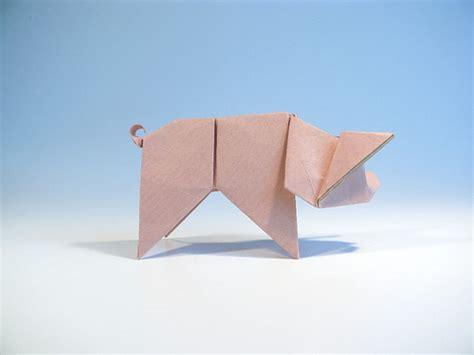 3d Origami Pig - origami pig schwein design by me rudolf deeg paper